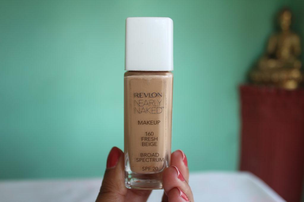 Revlon Nearly Naked 160 Fresh Beige