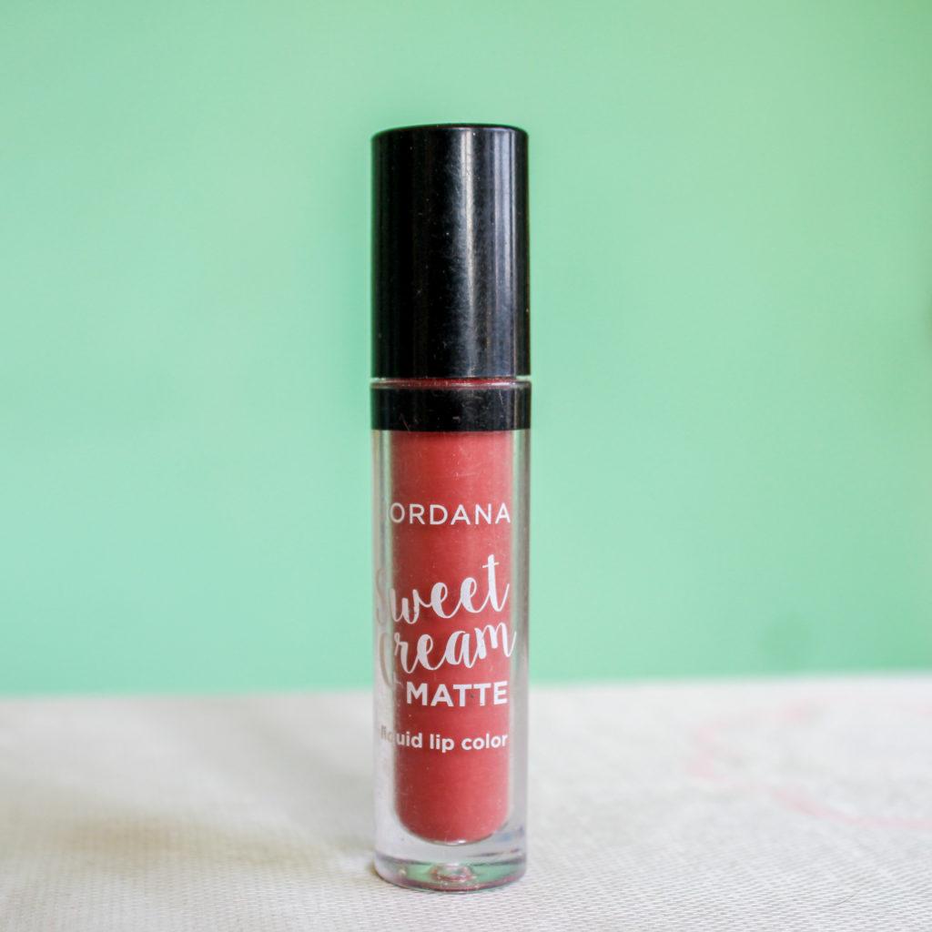 Jordana Sweet Cream Matte Liquid Lip Color Tiramisu